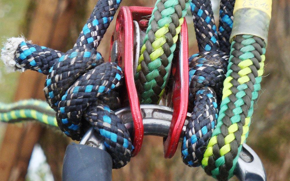 Kletterausrüstung Baumpfleger